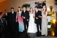 Novidade e descontração no casamento de Renata BelleieAlcides Marostica! Confira as fotos