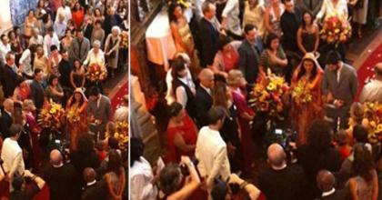 Glória Perez posta foto da cerimônia de comemoração