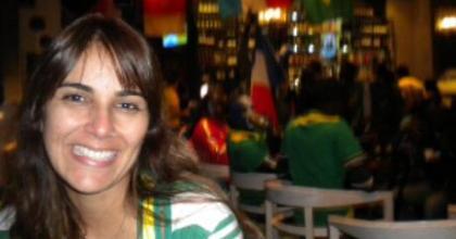 Locutora Shirley Souza da rádio Stereo Vale é correspondente de OsPaparazzi no maior evento de futebol do mundo