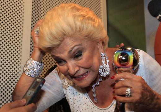 Hebe Camargo, a estrela do Domingão do Faustão