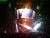 U2 com Bono Vox no show no Brasil