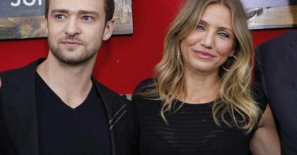 Ex-namorados, Cameron e Timberlake estão juntos no filme Professora Sem Classe, que chega ao Brasil em agosto