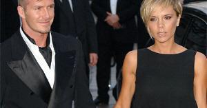 Victoria Beckham e David Beckham filha