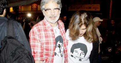 Familiares e amigos de Cissa compareceram ao show em homenagem a Rafael Mascarenhas