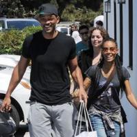 Will Smith e Jada Pinkett Smith foram flagrados sorrindo por paparazzis em Malibu; casamento vai bem, obrigado