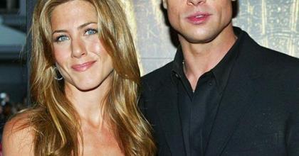 Eles já foram casados, mas o Brad se separou para casar com Jolie, depois voltou com Aniston e continua o mesmo...