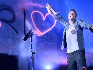 show Coldplay rock in rio Chris Martin