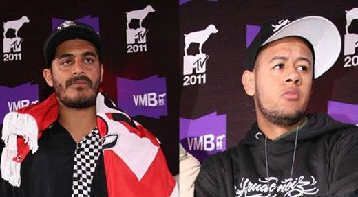 Criolo e Emicida vmb video music brasil 2011 mtv