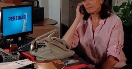 Griselda (Lília Cabral) vai recusar o convite do chef René (Dalton Vigh) no capítulo desta terça-feira na novela Fina Estampa