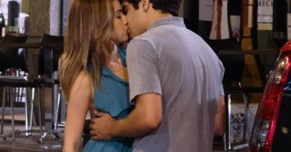 Personagens Antenor e Beatriz dão o primeiro beijo em Fina Estampa no capítulo deste sábado; e a Patrícia, Antenor?