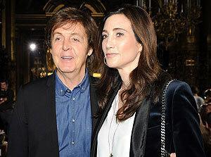 Paul McCartney e Nancy Shevell casamento música My Valentine