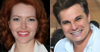 Karin Roepke é o nome da nova namorada do ator Edson Celulari, que terminou casamento com a atriz Claudia Raia em 2010
