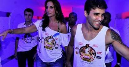 Ao lado do marido Daniel Cady, Ivete Sangalo falou sobre ter mais filhos nos bastidores do Carnaval de Salvador