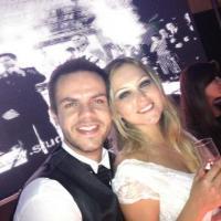 Vinicius Valverde e Vivian Gonzaga se casaram neste sábado, em Taubaté, no interior de São Paulo; veja fotos do casamento