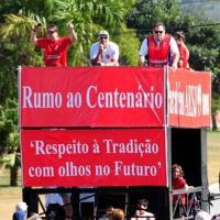 Caminhada e gincana de aniversário mobilizam grande número de associados da Associação Esportiva
