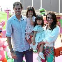 Festa com o tema da Minnie alegra aniversário das filhas de Giovanna Antonelli