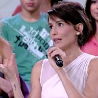 A atriz revela que já fez dietas malucas e erradas e que atualmente consegue se alimentar bem