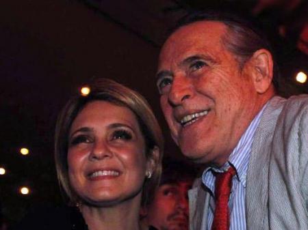 Adriana Esteves e José de Abreu