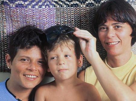 Cássia Eller, Chicão e Maria Eugênia