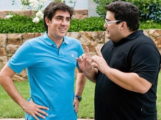 Marcelo Adnet e André Marques