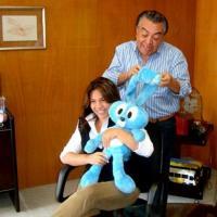 Mauricio de Sousa e sua filha vão organizar uma festa de aniversário da personagem Mônica
