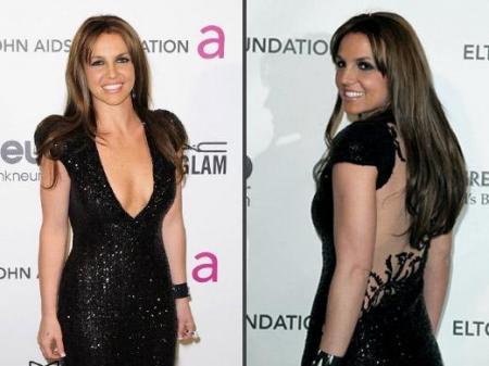 Britney Spears morena