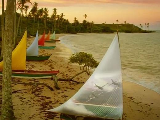 As praias e a paisagem de Flor do Caribe (Foto: Divulgação)