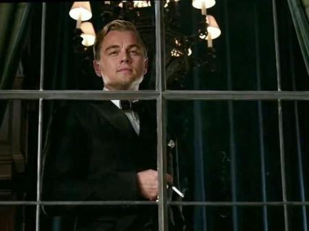Leonardo Di Caprio no filme O Grande Gatsby