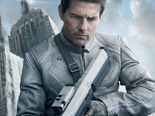 Tom Cruise no filme Oblivion
