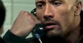 Dwayne Johnson no filme O Acordo
