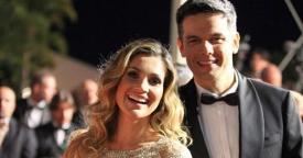 Flávia Alessandra e Otaviano Costa Salve Jorge (Foto: TV Globo)