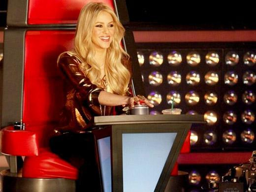 Shakira no programa The Voice