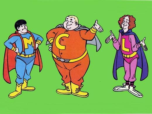 Os Robobos: Moe, Larry e Curly