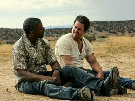 Denzel Washington e Mark Wahlberg Dose Dupla