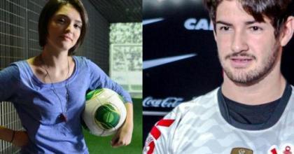 Segundo informações do jornal Extra, Alexandre Pato e Isabelle Drummond estão namorando