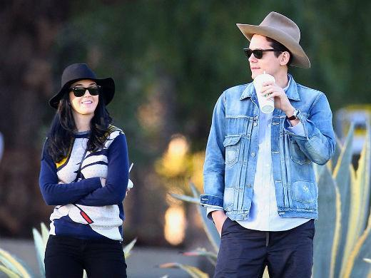 Katy Perry e John Mayer namorando