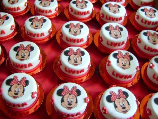 Festa de aniversário tema Minnie da Disney