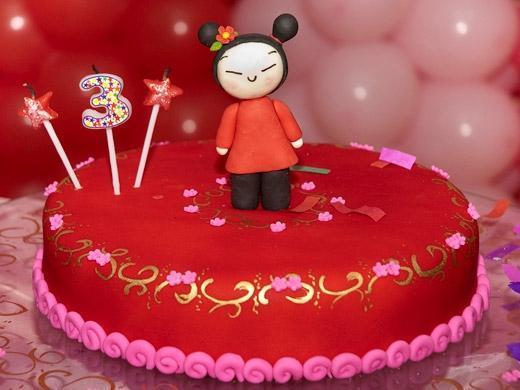 Festa de aniversário tema Pucca
