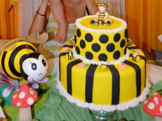 Festa de aniversário tema abelhinha