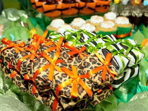 Festa de aniversário tema oncinha e zebrinha