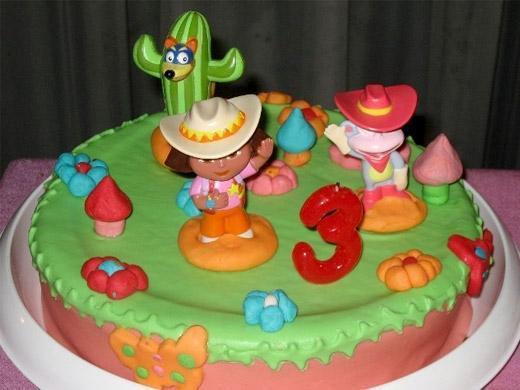 Festa de aniversário tema Dora Aventureira
