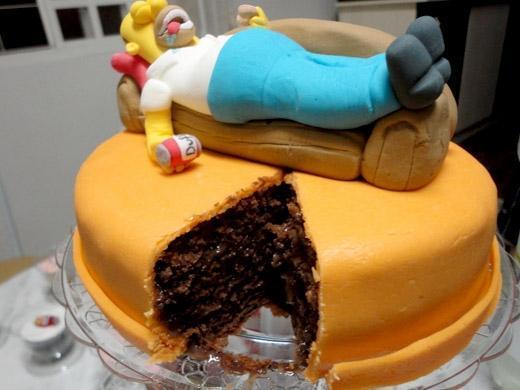 Festa de aniversário tema Homer Simpsons