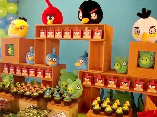 Festa de aniversário tema Angry Birds