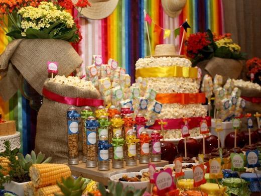 Aniversário com tema Festa Junina
