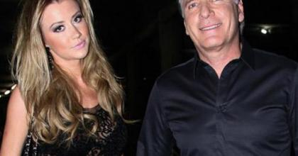 Paparazzis fazem fotos de Roberto Justus e Ana Paula Siebert, sua nova namorada após separação