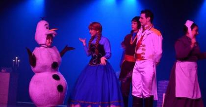 Teatro Frozen: Uma aventura congelante num conto de Natal em São José dos Campos - SP