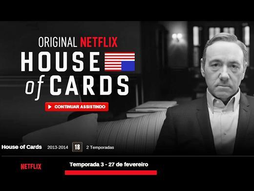 Kevin Spacey House of Cards terceira temporada