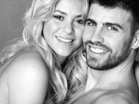 Shakira e Piqué filhos grávida
