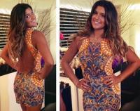 Filha de Flávia Alessandra, Giulia Costa, usa vestido lindo em festa de aniversário (Foto: Reprodução/ Instagram)