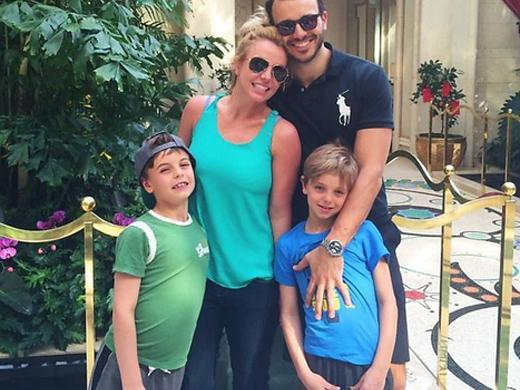 Filhos de Britney Spears Sean Preston e Jayden James